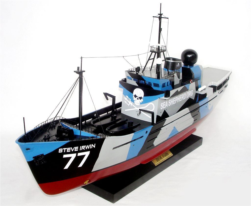 steve irwin schiffsmodell modellschiffe schiffsmodelle. Black Bedroom Furniture Sets. Home Design Ideas