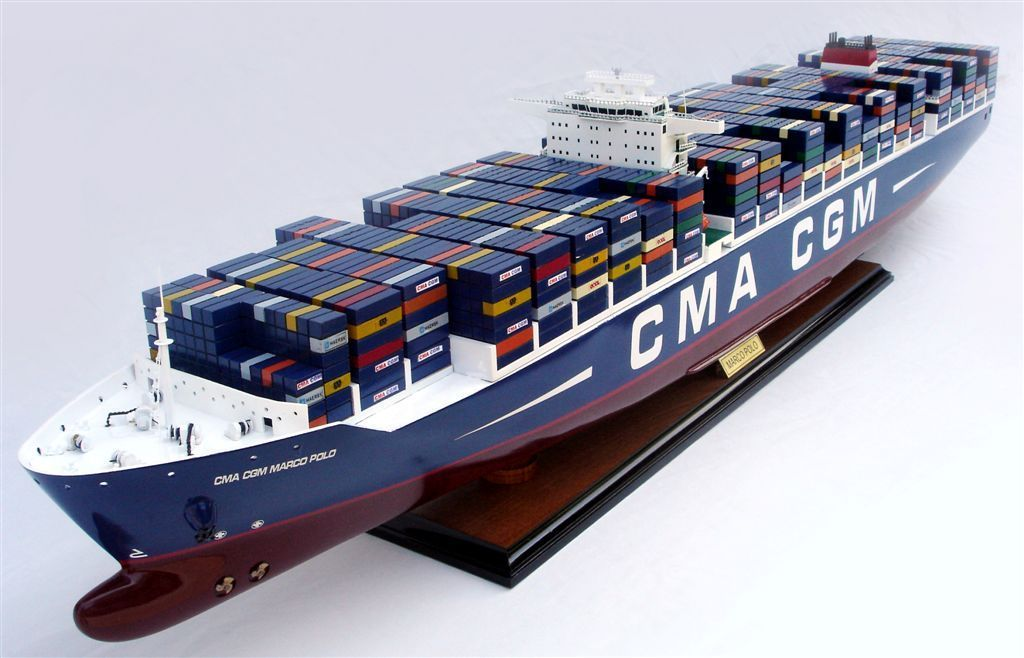 rc container ship with Containerschiff Cma Cgm Marco Polo on 32315006791 further File Bulk carrier general arrangement francais furthermore Stan Hopper Barge 6020 further Missouri likewise 184739.