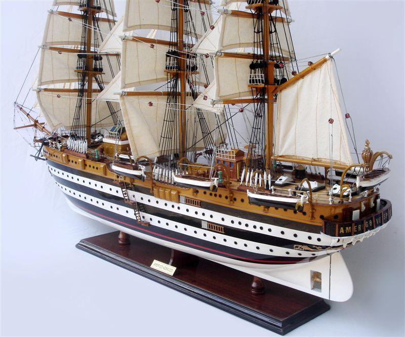 AMERIGO VESPUCCI 100 cm Länge - Schiffsmodell ...